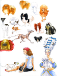 Toy Dogs and their Owners by Nettleurgy