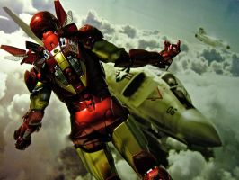Iron Man - Sky Rage by Riebeck