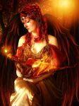 Lady of Flames by mum666