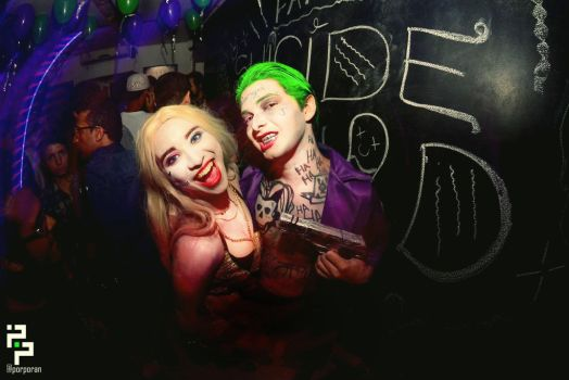 Harley Quinn Feat The Joker - Date Night with Mr J by JuliePuddin