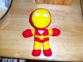 I  Am Iron Plush by MoonLightXAngel268