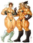 Chun Li and Dragon's Crown Amazon by Jebriodo