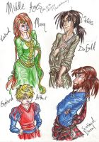 APH: 12th century clothes by TheInkgirl