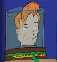 Conans Head from Futurama by Evil1991