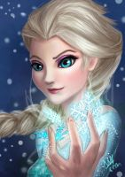 Elsa Frozen by maicenathereflectias