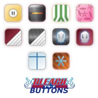 Bleach Buttons by Chrispynutt