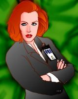 danna scully by Dennis80