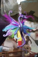 Feathered Pixie Dragon by LilacGrove