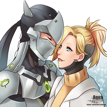 [Overwatch] Gency by AquaLeonhart