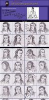 Character Expressions Meme by kiffyplaysdnd