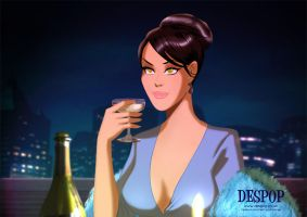 Dining with Selina Kyle by DESPOP
