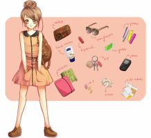 What's in my bag? by Miyanko-chan