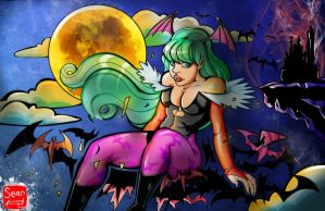 Morrigan Aensland by SeanLenahanSD