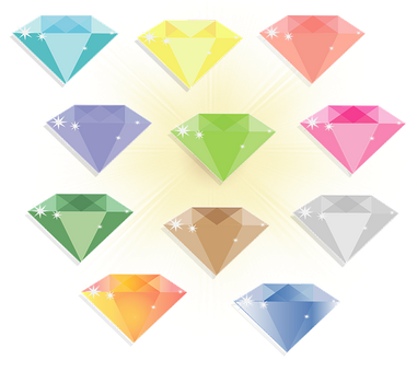 Simple Diamonds Preview by BABI40