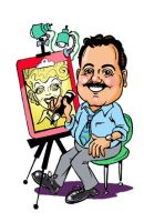 Me, the Caricature Guy by Caricature-Guy
