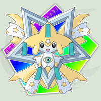 #385: Mega Jirachi by RaiZhuW-The-Real