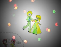 May I have this dance? -Salloyd picture- by Yellow-Phoenix