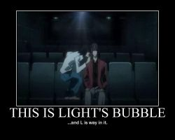 Death Note-Light's bubble by justanother763