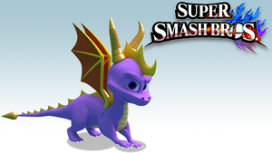 Super Smash Bos: Spyro the Dragon by RadSpyro