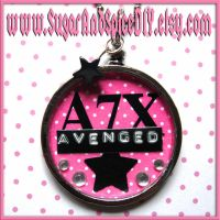 Avenged SUGAR POT Necklace by SugarAndSpiceDIY