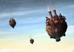 Floating Machines by Si2