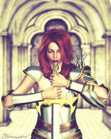 Lady Paladin by Louvette