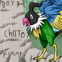 Chatot 30 day challenge by HoneyShuckle