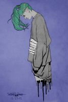 GRIMES no. 5 (digitally colored) by brettrounds