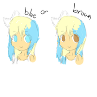 Blue or Brown? by EmilyBlueStar