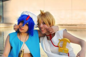 MAGI - Two friends! by AyaxSoundless