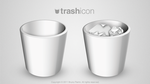 trash icon by Nemed