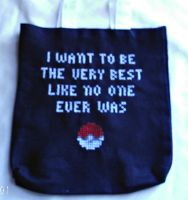 Pokemon Inspired Tote Bag by agorby00