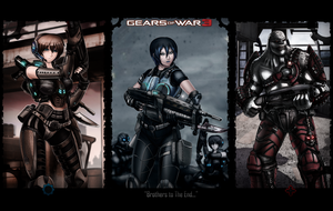 Gow 3 - my artwork wallpaper by arcadet