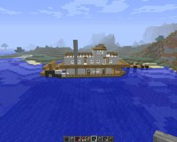 Rear wheel  river steamer by falcon01
