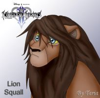 Lion Leon:Squall by 9Taria6