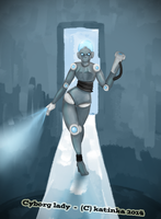 Cyborg lady by Doctor-of-Madness