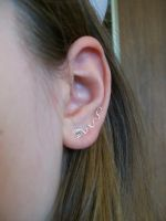 Post-Earring Earvine by MiscellaneousMaille