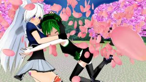 MMD ~Me and Kitsune!~ by ChibiLayleYokine