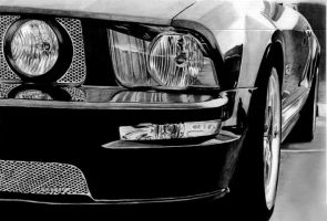 Ford Mustang gt by pencilordie