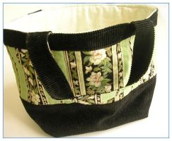 Green Orient bag by restlesswillow