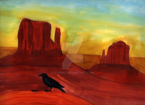 Monument Valley by eugeal