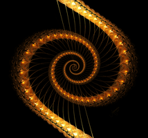 Golden-Harp by The-Apparition