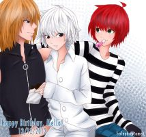 Happy Birthday, Mello! [2013] by HaleyBopComet