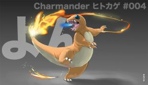 004Charmander by gillpanda