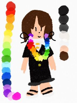 Jollimore Rainbow Lei Colour Reference by SurfingTheSeaWorld