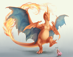 Charizard use stomp by Sumoka