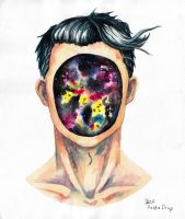 Space Face by Sasha-Drug