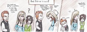 Really BAD pick-up Lines ... by NatsumeWolf