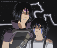 Father and Son by Reina-Kitsune