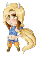 Chibi commish for Karijn-s-Basement by ErisAdopts